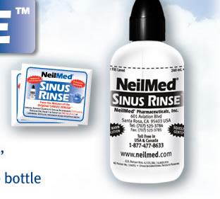 nasaflo sinus rinse