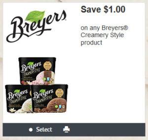 breyers coupon