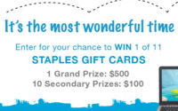 save staples gift card